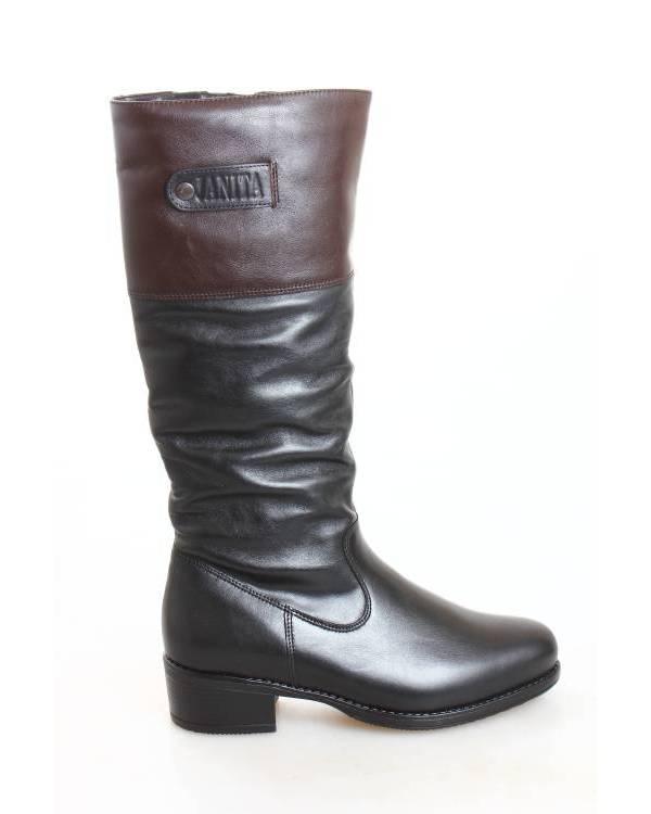 009b3ab3d Сапоги Janita черные 41609-0501 купить во Владивостоке за 11690 руб ...