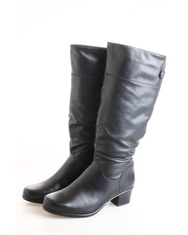 aada2f6e1 Сапоги Janita черные 42449-0501 купить в Барнауле за 9390 руб | Робек