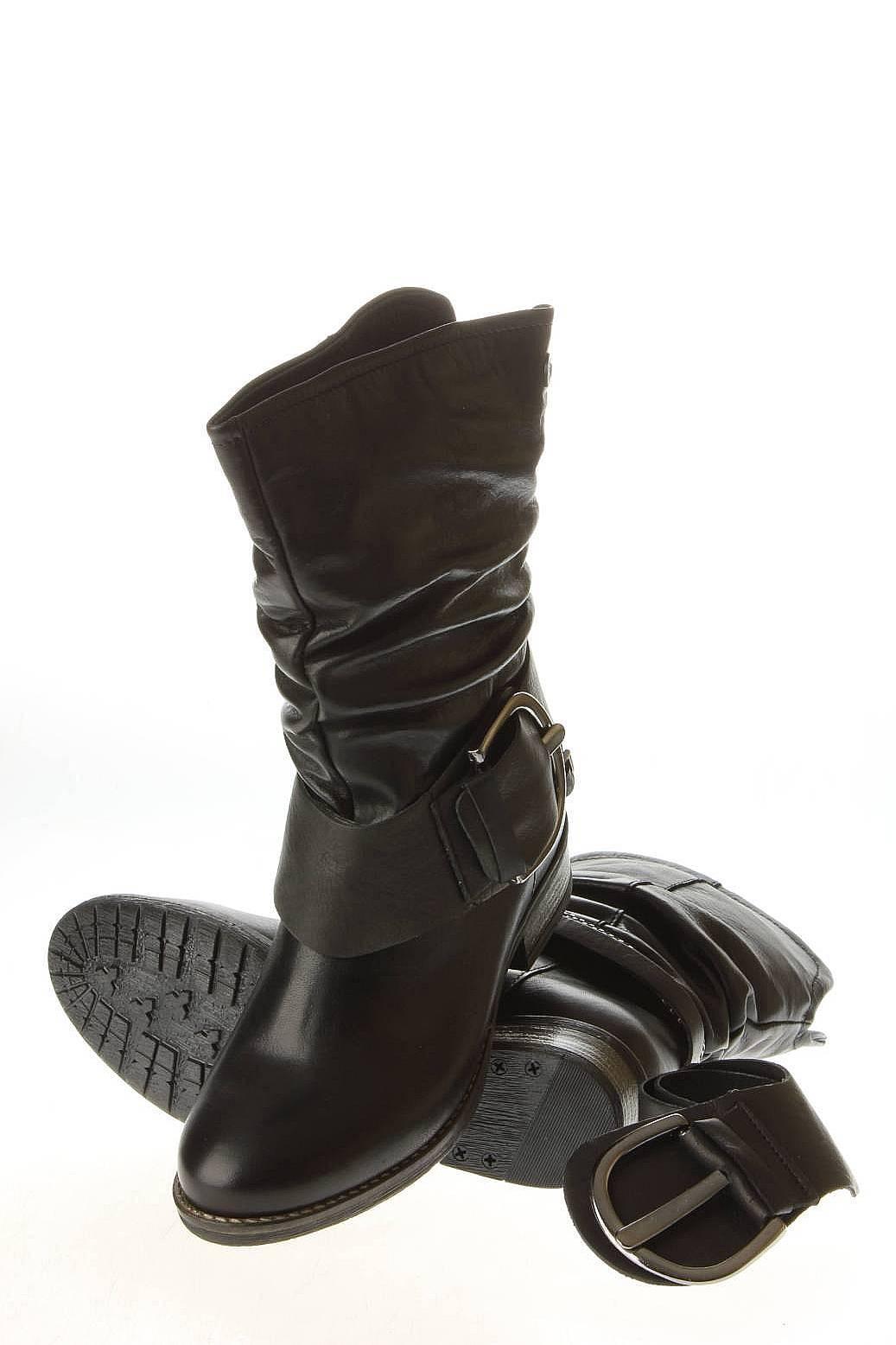 Indiana   Женская Чёрная Обувь