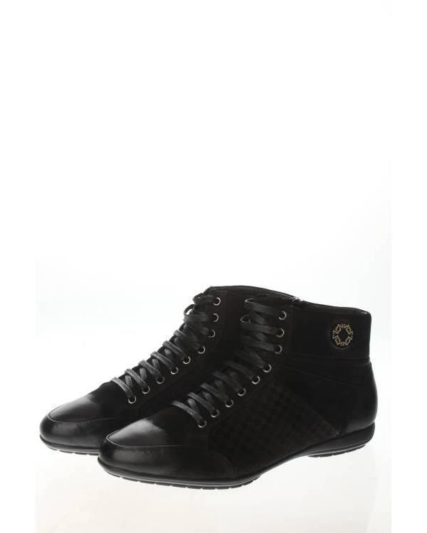 WEST CLUB | Мужская Чёрная Обувь