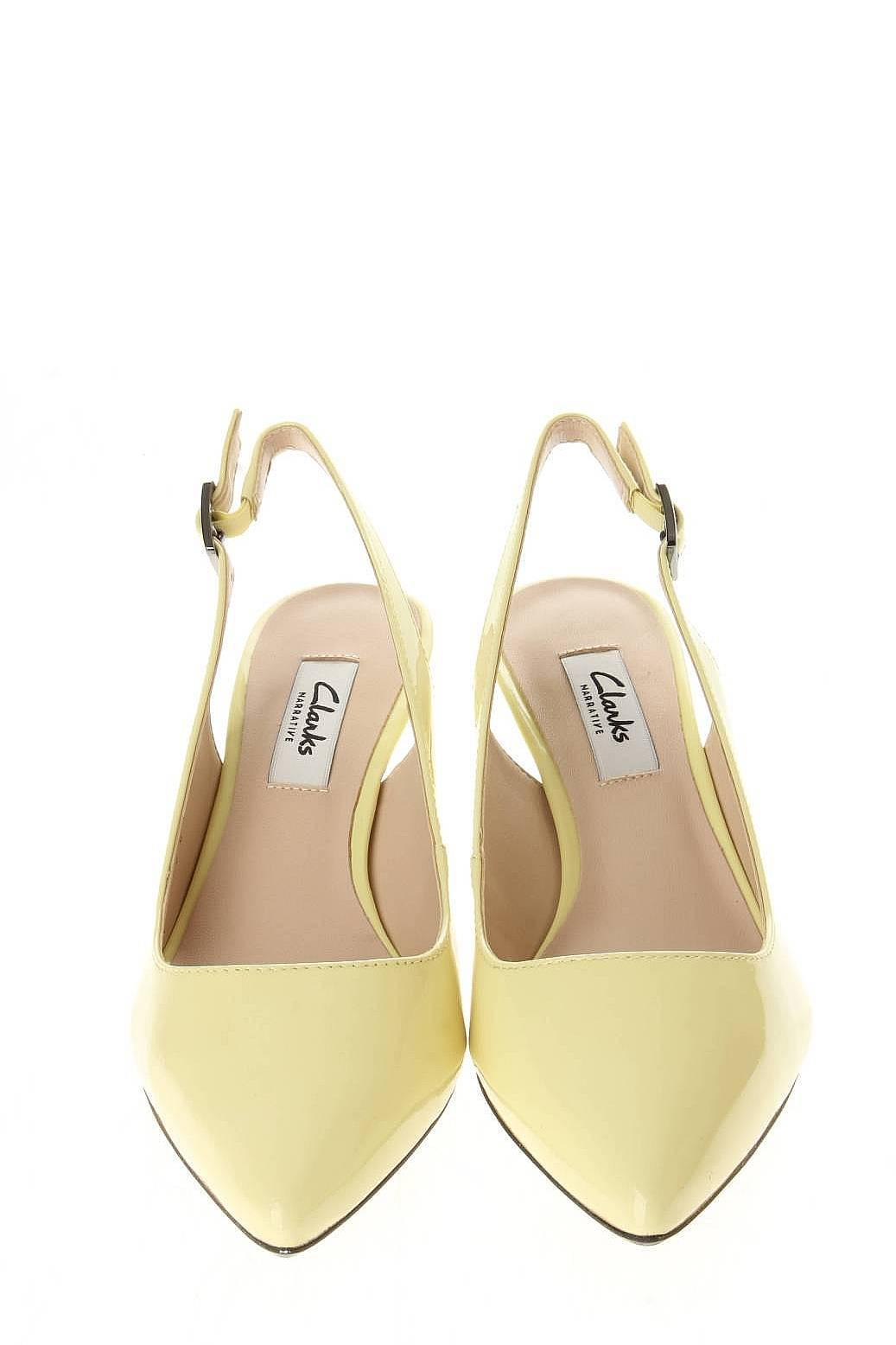Clarks | Женская Жёлтая Обувь