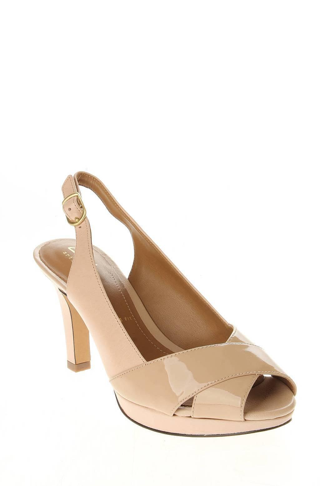 Clarks | Женская Бежевая Обувь