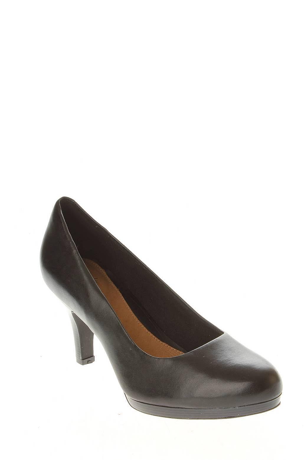 Clarks | Женская Чёрная Обувь