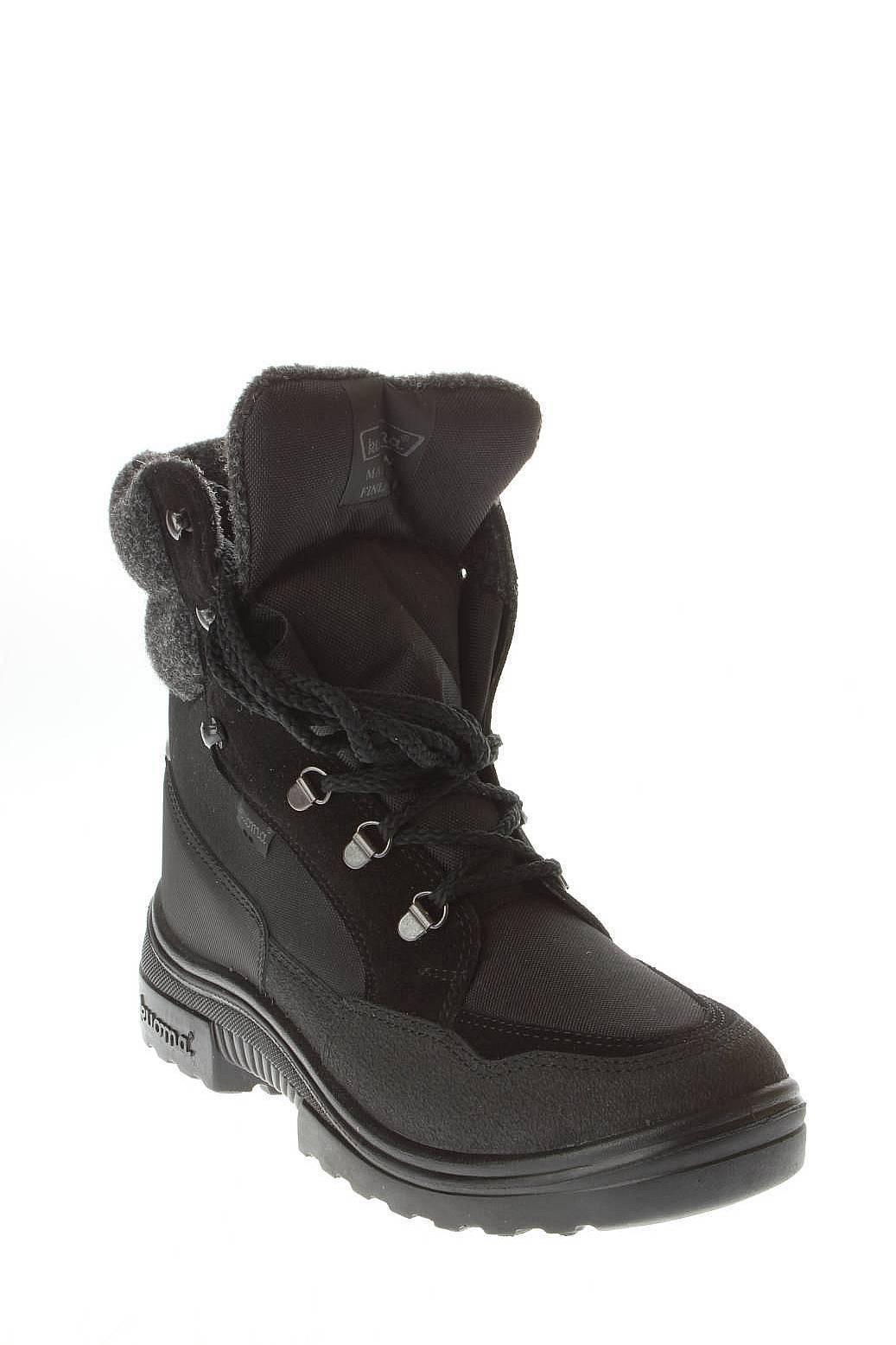 Kuoma | Мужская Чёрная Обувь