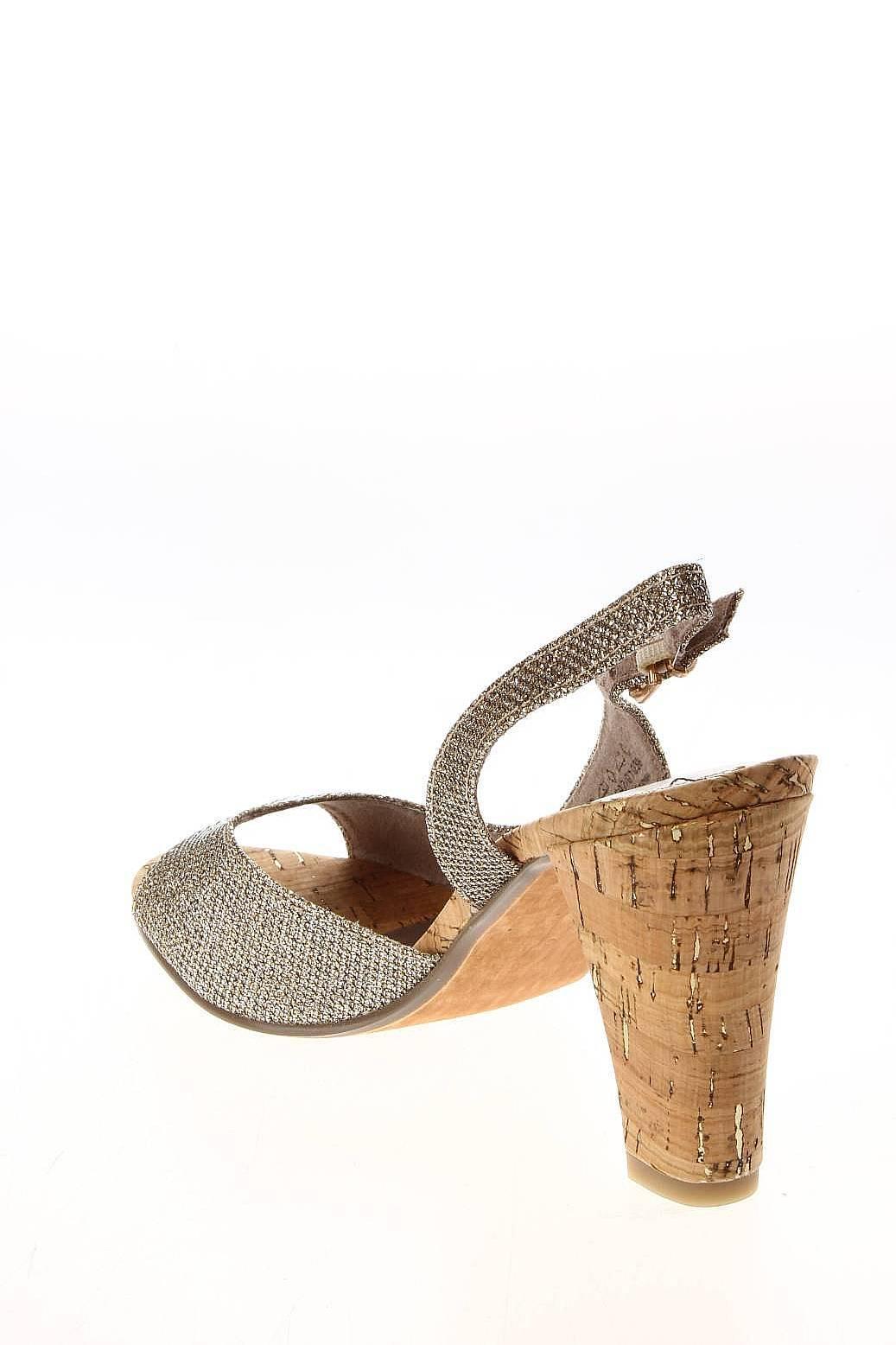 Marco Tozzi | Женская Золотая Обувь