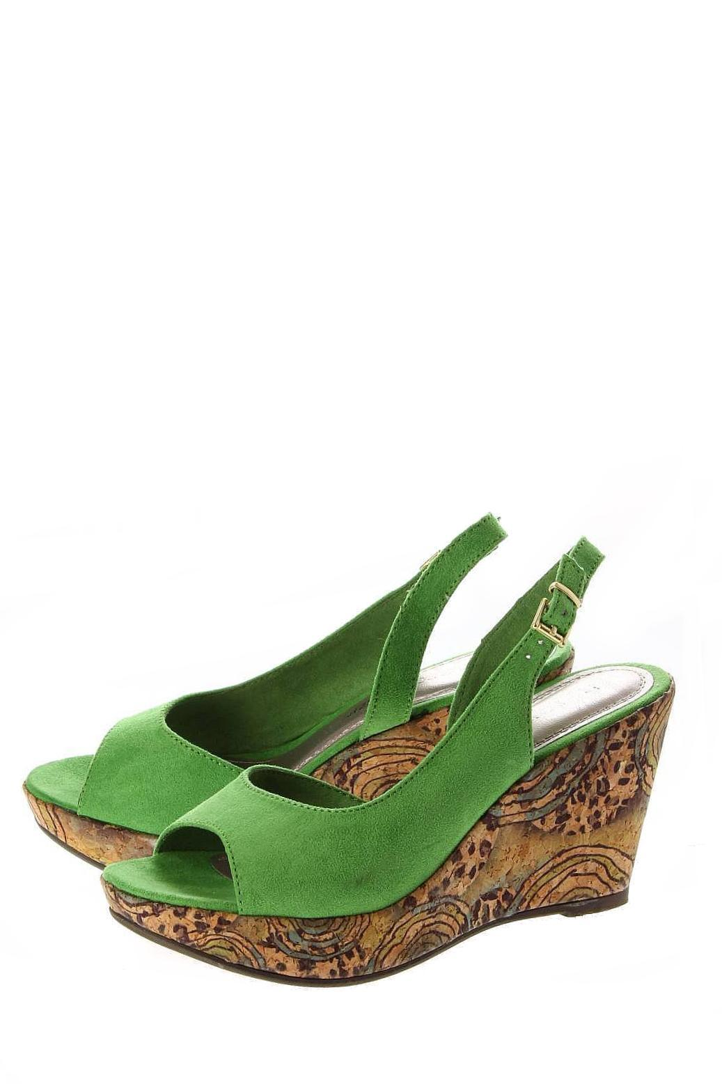 Marco Tozzi | Женская Зелёная Обувь