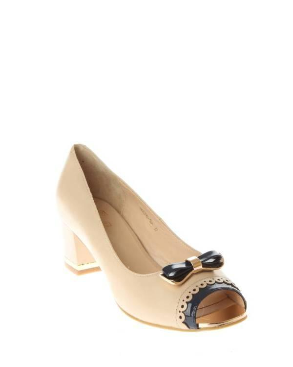 Moda Donna | Женская Бежевая Обувь