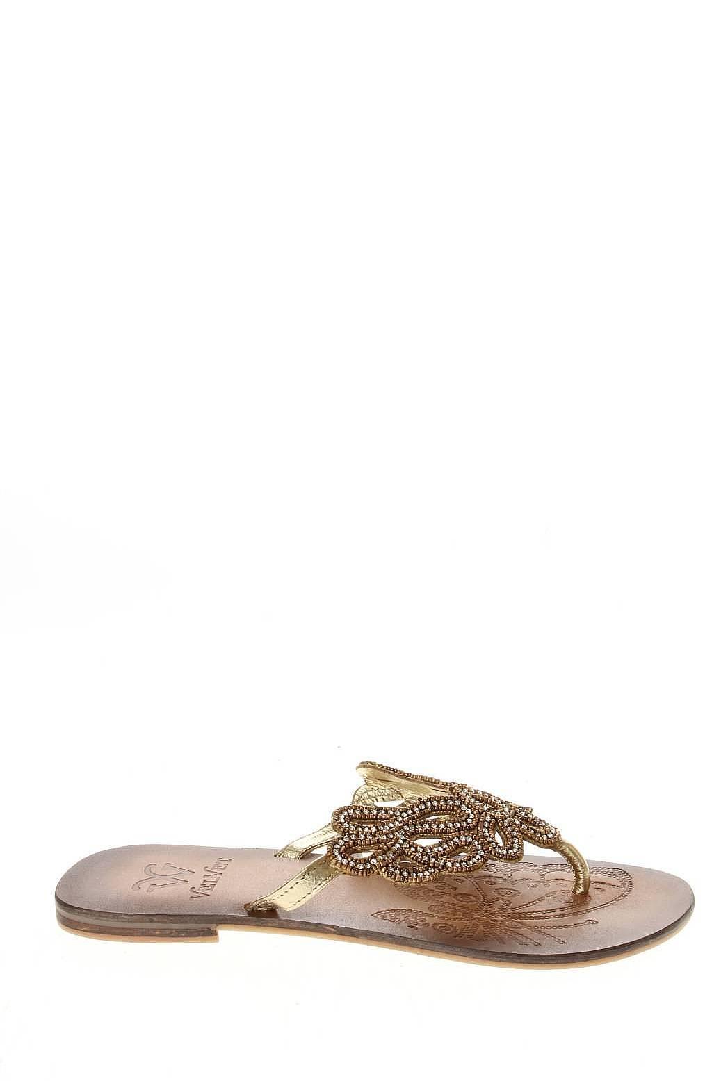 Velvet | Женская Золотая Обувь