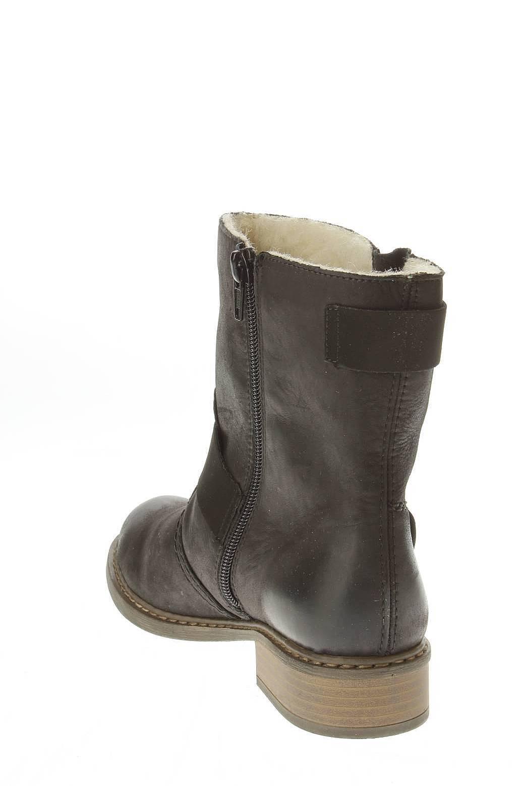 Rieker | Женская Чёрная Обувь