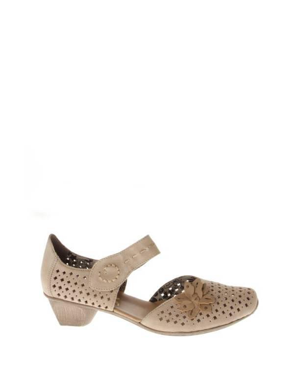 Rieker   Женская Бежевая Обувь
