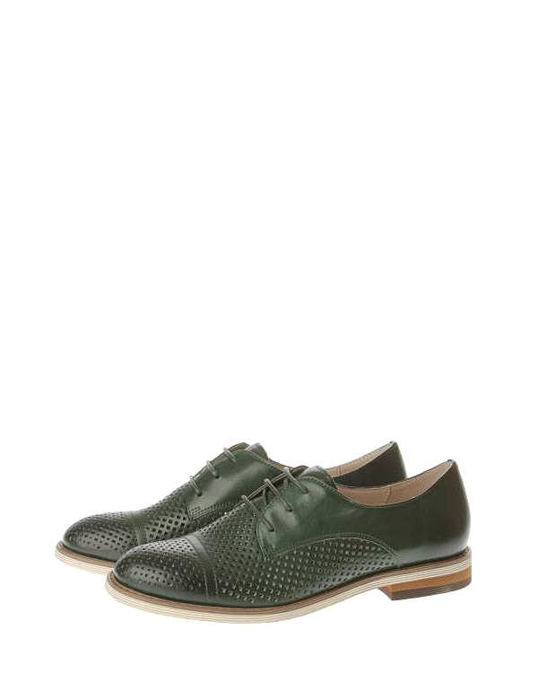 Benetti | Женская Зелёная Обувь