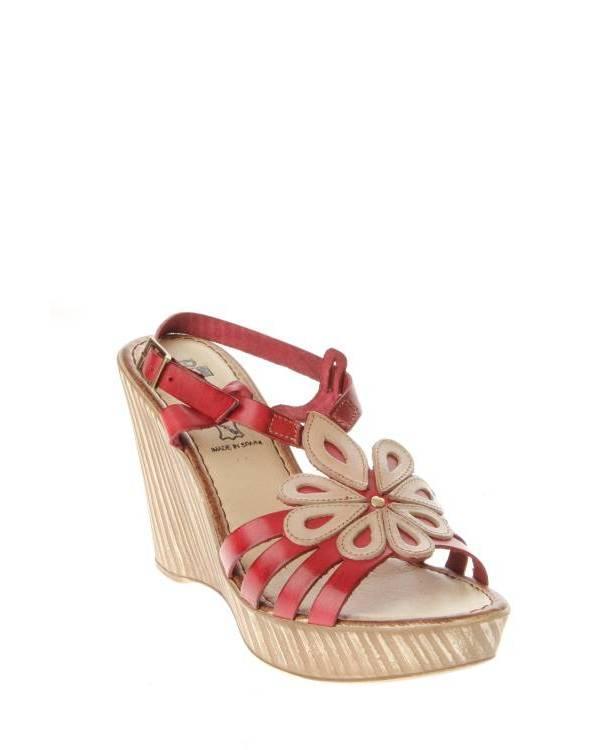 BENTA SPAIN | Женская Красная Обувь